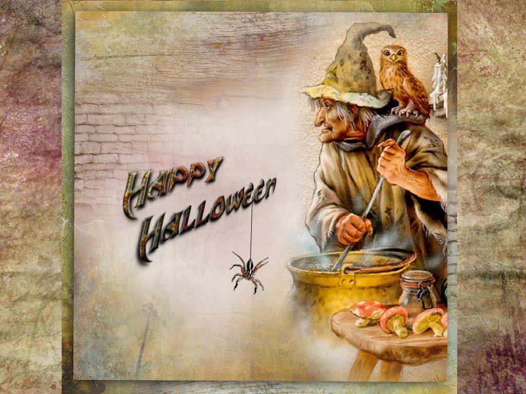 happy halloween dans fond d'écran